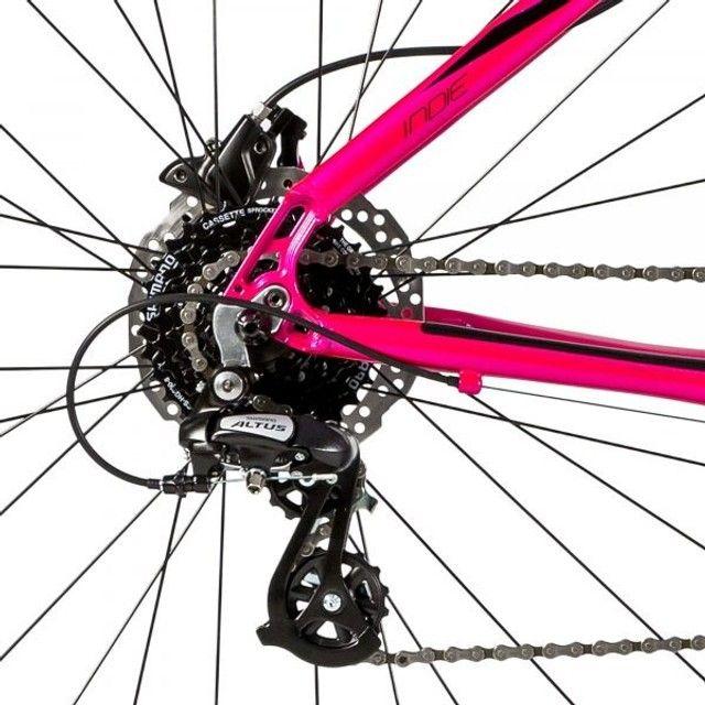 Bicicleta Alumínio MTB 24v HD Groove Indie 50 - Foto 3