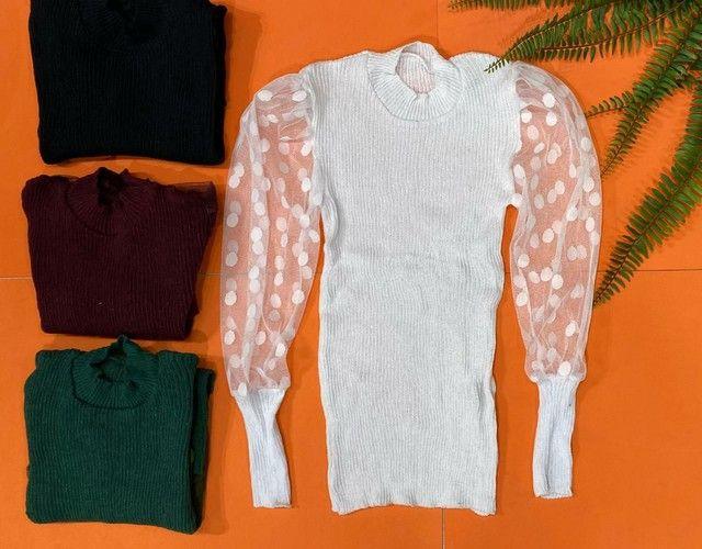 Blusa em tricot - Foto 3