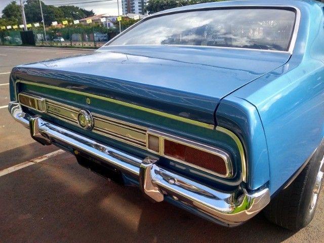 Ford Maverick 4 Portas Azul 1975 Original, 3º Dono, Raridade - Foto 6