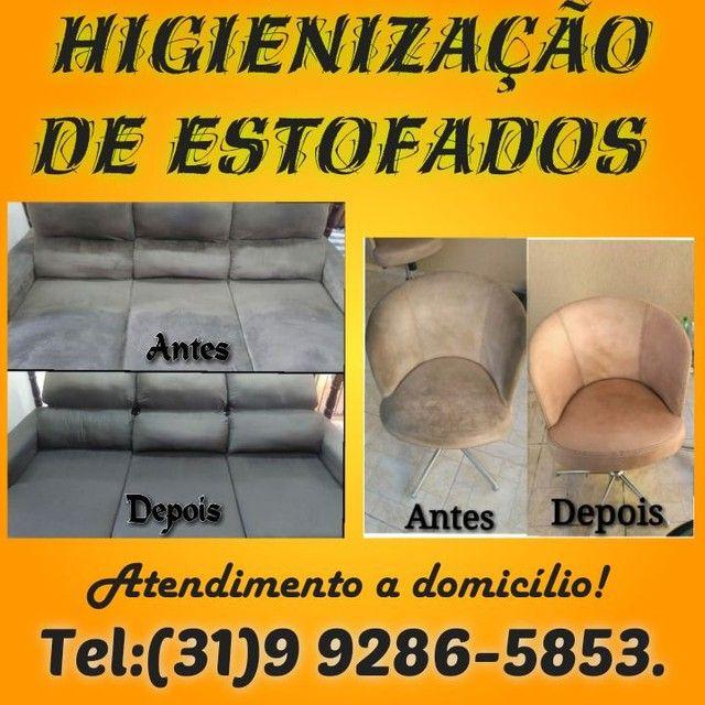 Limpeza de estofados - Sofás , Colchão , Bancos