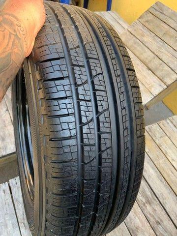 Vendo 4 pneus cada um de uma medida todos novos zero com rodas  - Foto 6