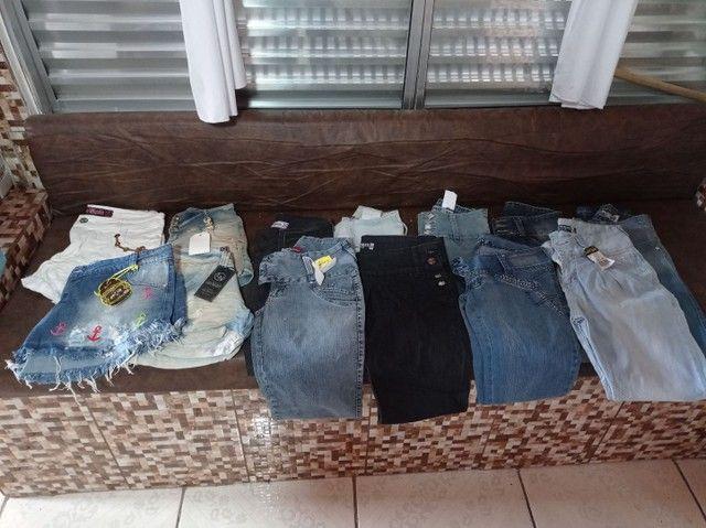 Calça jeans e shorts jeans feminina - Foto 6