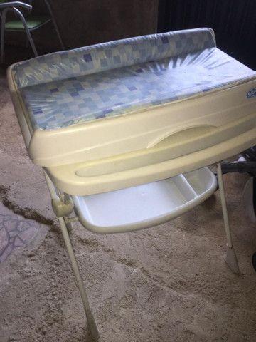 Kit de berço, banheira e carrinho - Foto 5