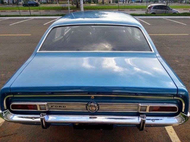 Ford Maverick 4 Portas Azul 1975 Original, 3º Dono, Raridade - Foto 5