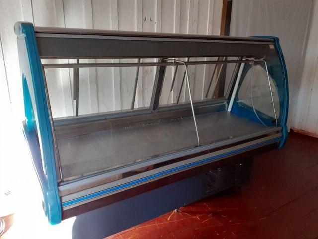 Balcão frigorífico para acougue