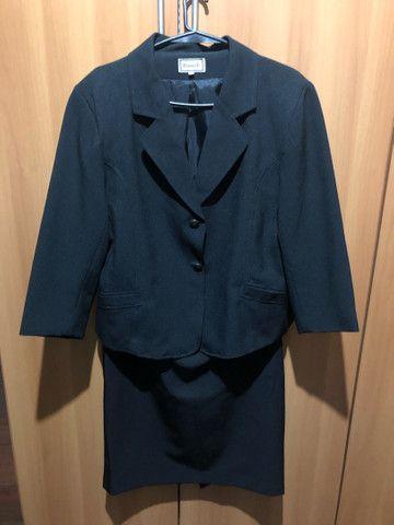 Conjunto saia e casaco