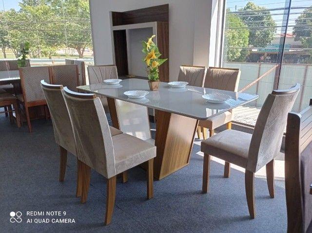 Mesa de Jantar 6 Cadeiras Apogeu - Foto 3