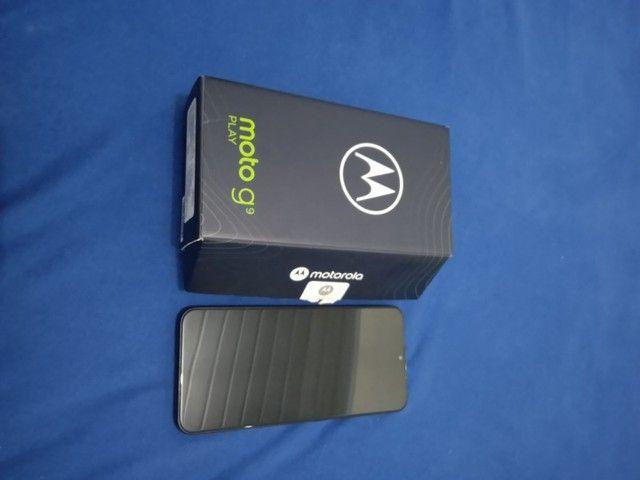 Motorola g9 play C/ nota fiscal - Foto 3