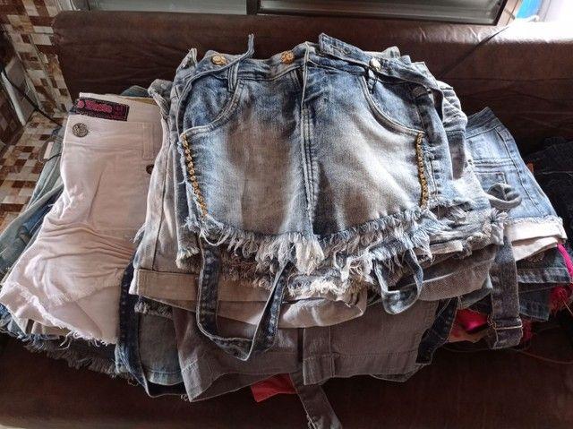 Calça jeans e shorts jeans feminina - Foto 2