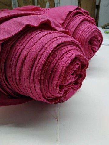 Malha Piqué ecopet  rosa pink - Foto 3