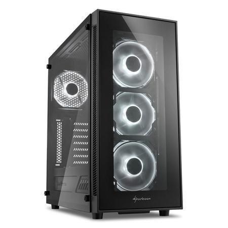 CPU Gamer I5 9600K 9ª geração 16GB(2x8) RAM, 500GB HD + 120GB SSD