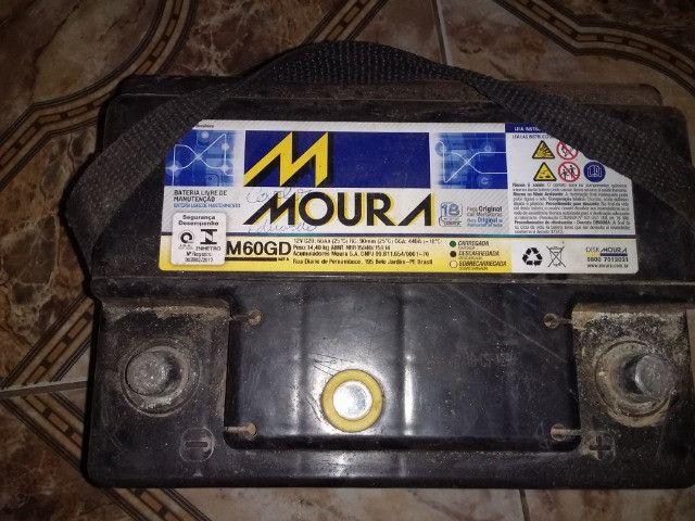 Bateria moura 60 ah - Foto 5