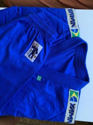 Kimono de Jiu-Jitsu Infantil trançado - Foto 6