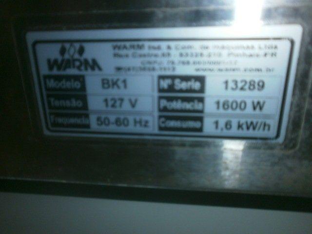 maquina de waffer - big cascão - Foto 6