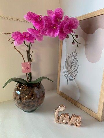 Vendo arranjos de orquídea permanente 75,00 a vista  - Foto 4
