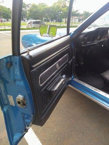 Ford Maverick 4 Portas Azul 1975 Original, 3º Dono, Raridade - Foto 7