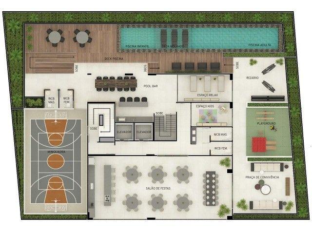 Hur* - Lançamento Aeroclube - Alto padrão - 67 a 101 m² - 02 ou 03 qtos - 02 vgs - Foto 8
