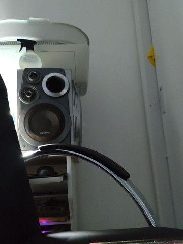 Som gradiente antigo micro syestem MP3 240rms - Foto 3