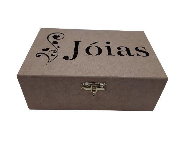 Porta joias com divisorias removiveis - Foto 2