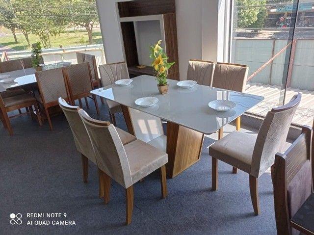 Mesa de Jantar 6 Cadeiras Apogeu - Foto 2