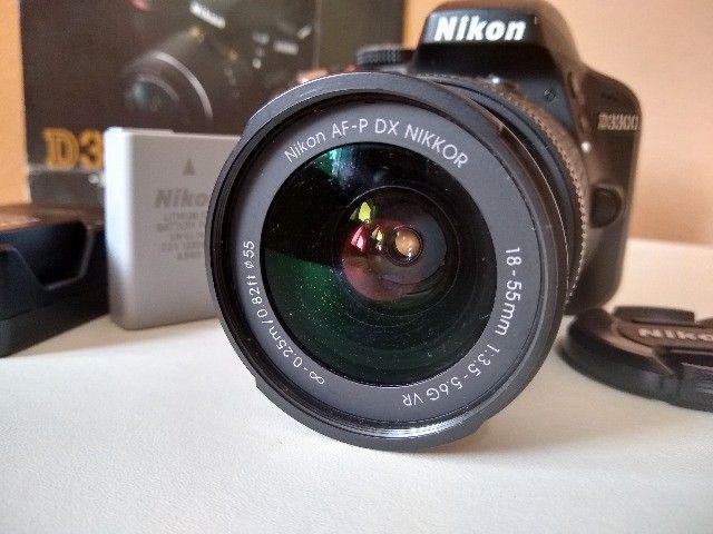 Camera Nikon D3300 + 18-55mm  - Foto 2
