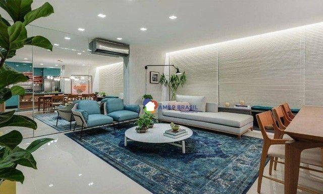 Apartamento com 3 dormitórios à venda, 125 m² por R$ 910.000,00 - Setor Marista - Goiânia/ - Foto 2