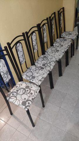 Mesa de Mamore com 6 cadeiras - Foto 3