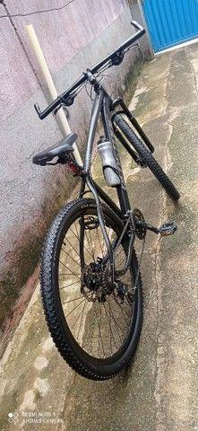 Bicicleta Redstone aro 29 e com freio Hidráulico.  - Foto 4