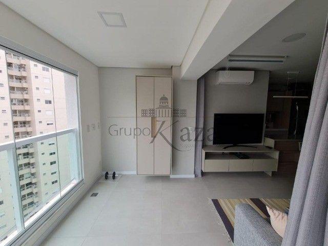 Apt 57m² mobiliado 1 drm, 1 wc, 1 vaga e lazer - Foto 8