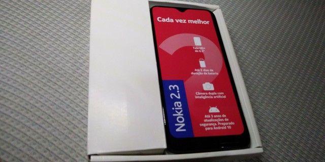 Smartphone Nokia 2.3(semi-novo) lançamento 2020 já atualizado com Android 11 - Foto 2