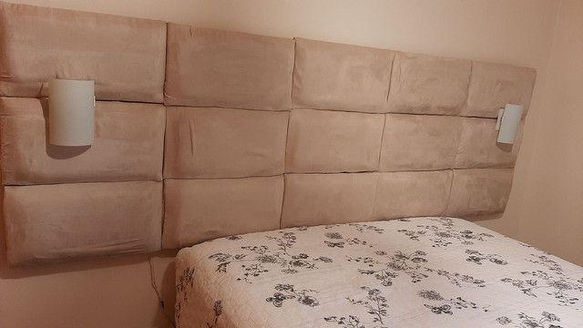 Cabeceira de cama de casal - Foto 3