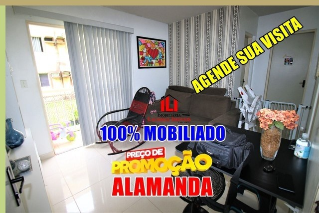 Tarumã Apartamento com 2 Quartos Condomínio jardim paradiso Alaman - Foto 2