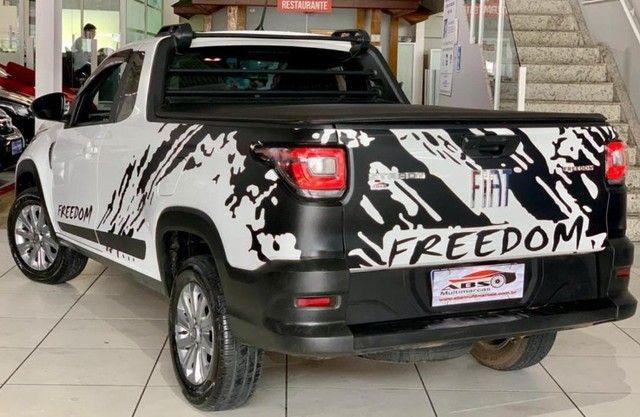 Fiat-Strada Freedon plus 1.3 2021 completassa Incrivel !!Troco e financio chama no zap!! - Foto 5