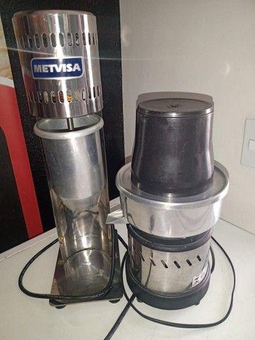 Batedeira de milk sheik e espremedor de suco - Foto 3