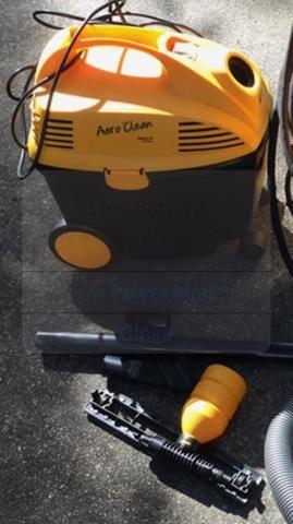 Aero Clean aspirador de pó e agua 15 litros