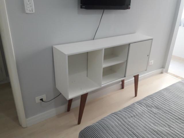 Aparador Sofa ~ Aparador retr u00f4 em MDF Branco Móveis Parque S u00e3o Vicente