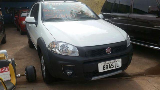 Fiat Strada Zero Bala apenas R 64.990,00 / Brasil Multimarcas