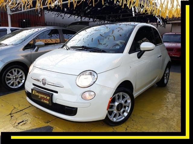 Fiat 500 Perola!! Financio Sem Ent. nao ka c3 onix 208 kwid up hb20 cooper mobi uno gol