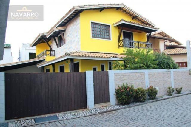 Casa com 4 dormitórios à venda, 184 m² por r$ 690.000 - stella maris - salvador/ba
