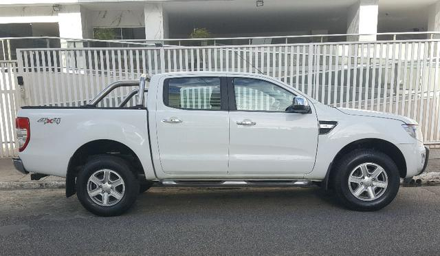 Ford Ranger Branca XLT 3.2 4x4 - Diesel - Foto 7