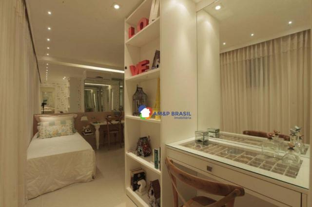 Apartamento com 4 dormitórios à venda, 175 m² por R$ 1.080.000,00 - Setor Marista - Goiâni - Foto 8