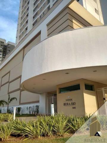 Jardim Beira Rio 78 m² - Sacada Gourmet - 3 Quartos - Sol da manhã - Foto 2
