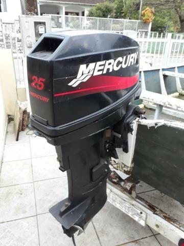 Bateira com motor de 25 hp - Foto 2