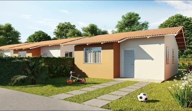 R$ 106.000 Vendo Linda casa Com 2 Quartos no KM 2. Realize seu sonho da casa Própria - Foto 8
