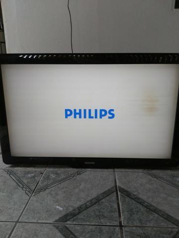 Tv Lcd 40 Philips com defeito baixei o preço