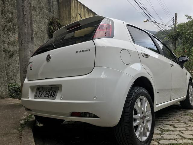 Fiat Punto Attractive Itália 1.4 Flex - Foto 7