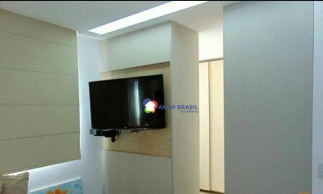 Apartamento com 2 dormitórios à venda, 69 m² por r$ 250.000,00 - parque amazônia - goiânia - Foto 9