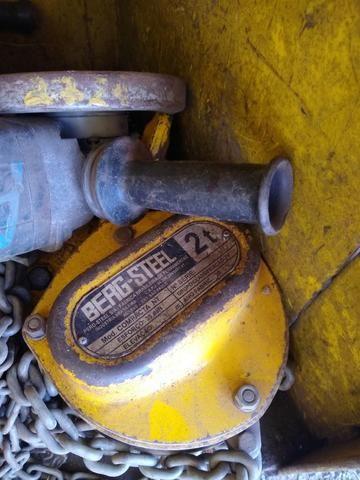 Talha manual capacidade de 1,5 tonelada - Foto 2