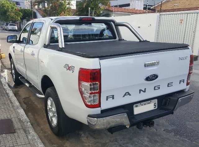 Ford Ranger Branca XLT 3.2 4x4 - Diesel - Foto 3