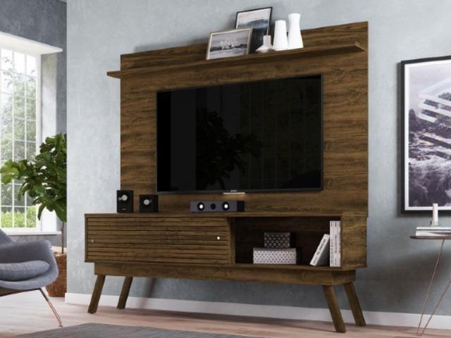 Rack + Painel Frizz Lorenzo 1.5.6 TV até 60 Polegadas - Foto 4